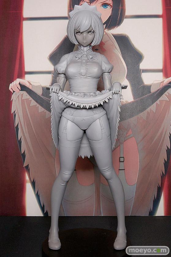 ダイキ工業の嫌な顔されながらおパンツを見せてもらいたい本 メイドの伊東ちとせさんの新作フィギュア原型画像01