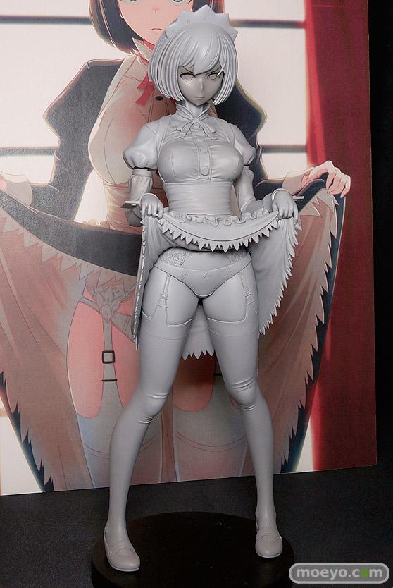 ダイキ工業の嫌な顔されながらおパンツを見せてもらいたい本 メイドの伊東ちとせさんの新作フィギュア原型画像02