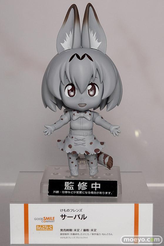 アニメジャパン2017のグッドスマイルカンパニーの新作ねんどろいど figma系フィギュア展示の様子01