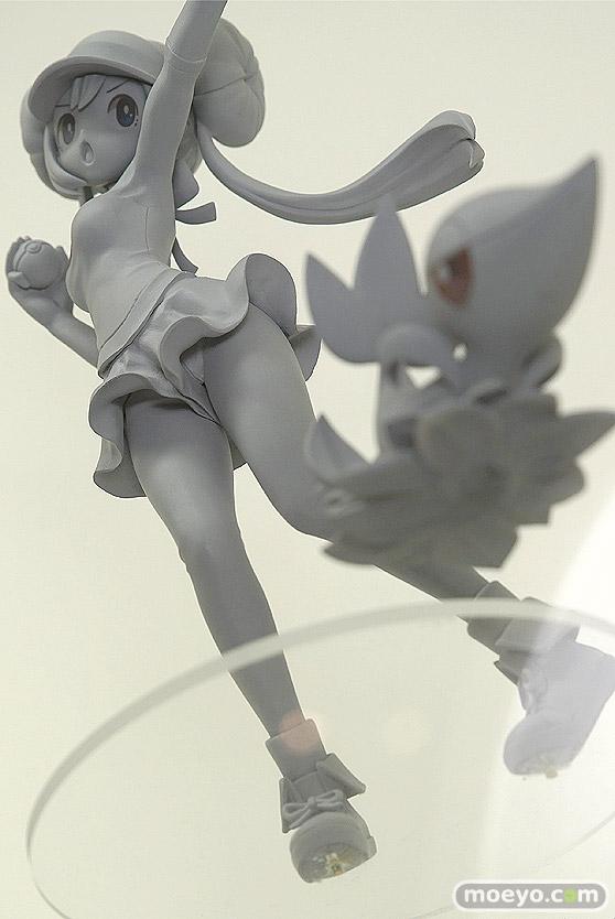 コトブキヤのARTFX J ポケットモンスターシリーズ メイ with ツタージャの新作フィギュア原型画像09
