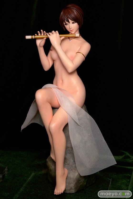 クルシマ製作所のKEIKO'S Beauty Line collection No.C627 蛍石(フローライト) の新作フィギュア彩色サンプル画像01