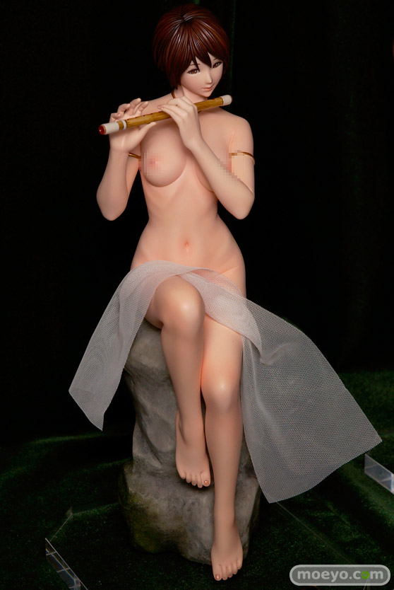 クルシマ製作所のKEIKO'S Beauty Line collection No.C627 蛍石(フローライト) の新作フィギュア彩色サンプル画像02