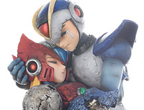 あの伝説のコミック版『ロックマンX』名シーンを完全再現!ロックマンX-コミック版- エックス&ゼロ「懐かしい未来へ…」 4月25日(火)受注開始