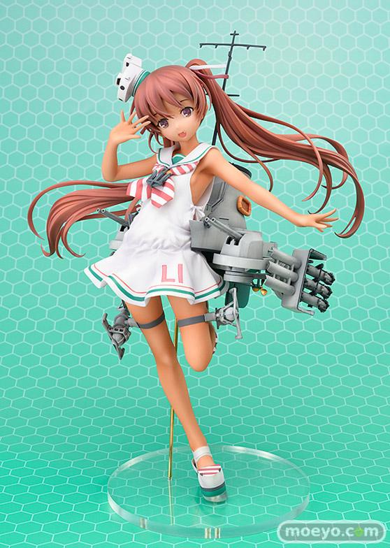ホビージャパンの艦隊これくしょん -艦これ- Libeccioの新作フィギュア彩色サンプル画像01