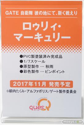 秋葉原の新作フィギュア彩色サンプル展示の様子あみあみ秋葉原店19