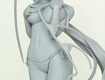 フリーイング新作フィギュア「ハイスクールD×D BorN 姫島朱乃 水着Ver.」監修中原型が展示!【WF2017冬】