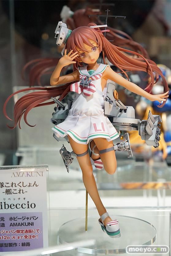 ホビージャパンの艦隊これくしょん -艦これ- Libeccioの新作フィギュア彩色サンプル展示画像01