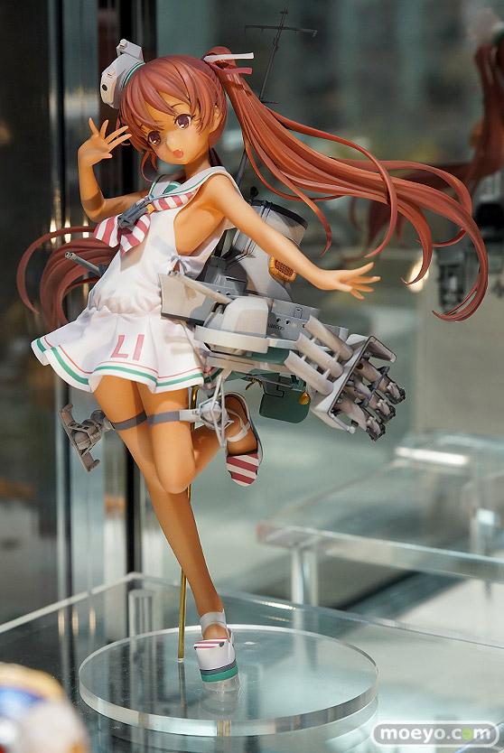 ホビージャパンの艦隊これくしょん -艦これ- Libeccioの新作フィギュア彩色サンプル展示画像02