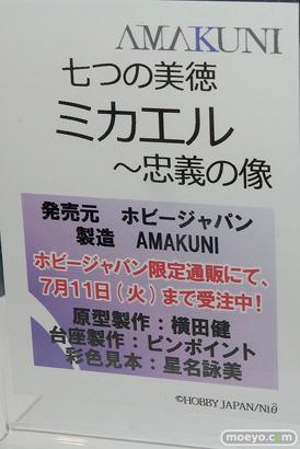 メガホビEXPO 2017 Spring ホビージャパンブースの新作フィギュア展示の様子03