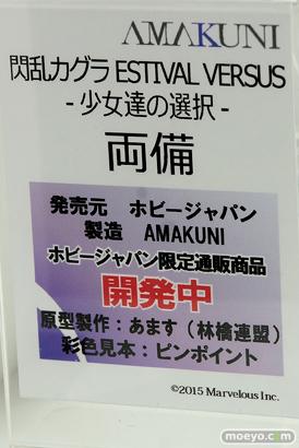 メガホビEXPO 2017 Spring ホビージャパンブースの新作フィギュア展示の様子27