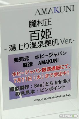 メガホビEXPO 2017 Spring ホビージャパンブースの新作フィギュア展示の様子34
