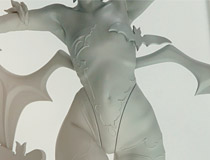 あの過激な超必殺技が立体化!ホビージャパン新作フィギュア「ヴァンパイアセイヴァー リリス スプレンダーラブ」監修中原型が展示!【メガホビ2017春】
