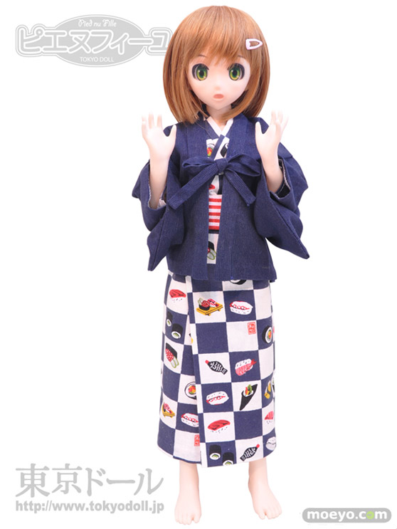 東京ドールのピエヌフィーユ/ふわりの新作ドール彩色サンプル画像05