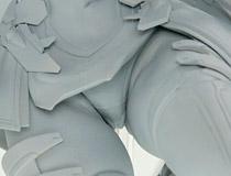 ホビージャパン新作フィギュア「超昂神騎エクシール 神騎エクシール」監修中原型が展示!【メガホビ2017春】