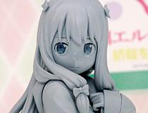 そこはかとなく漂う色気!コトブキヤ新作フィギュア「エロマンガ先生 和泉紗霧」監修中原型が展示!