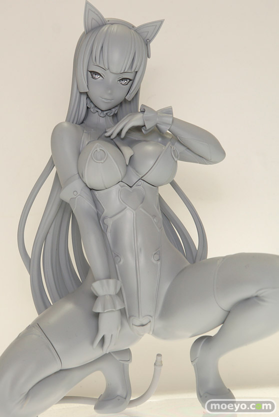クイーンテッドのばん!オリジナルデザイン・フィギュア 招猫娘 -mao・nyan-の新作フィギュア原型画像05