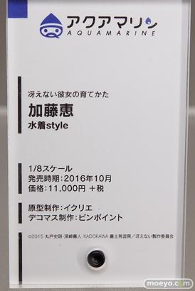 冴えない主人公(TAKI)の育てかた♭ 会場で展示されているフィギュアの様子19