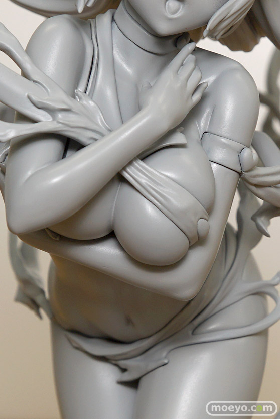 FineΦCloverのキューティーハニー 1/7 如月ハニー ハニーフラッシュ真っ最中!(仮称)の新作フィギュア原型画像12