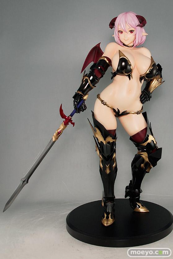 ダイキ工業の魔境騎士 ダリアの新作フィギュア彩色サンプル画像01