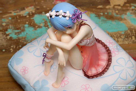 KADOKAWAのRe:ゼロから始める異世界生活 レム・バースデーランジェリーVer.の新作フィギュア彩色サンプル画像05