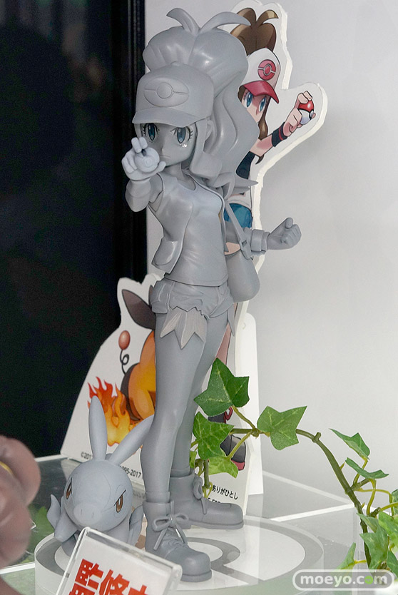 コトブキヤのポケットモンスター トウコ with ポカブの新作フィギュア原型画像03