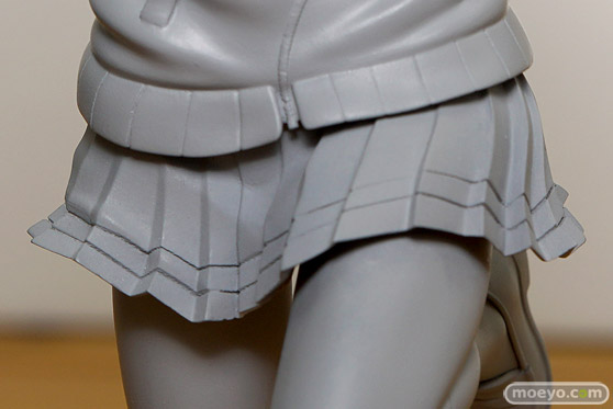 ファインクローバーのハイスクール・フリート 西崎芽依の新作フィギュア監修中原型画像14