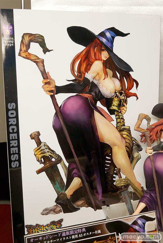 オーキッドシードのドラゴンズクラウン ソーサレスの新作フィギュア彩色サンプル画像12