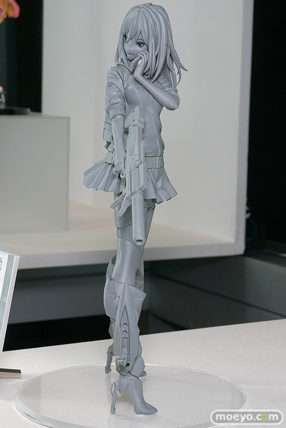 マジックモールドのARMS NOTE バイオニック・ジョシコウセイの新作フィギュア原型画像04