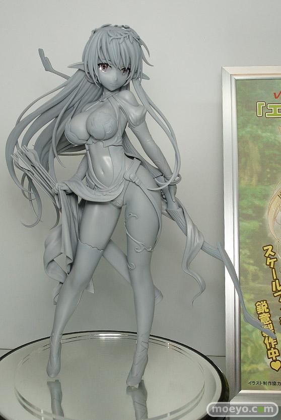 ヴェルテクスのエルフの少女(仮)の新作フィギュア原型画像01