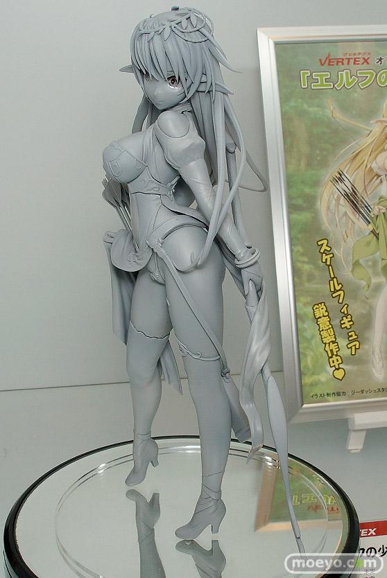 ヴェルテクスのエルフの少女(仮)の新作フィギュア原型画像06