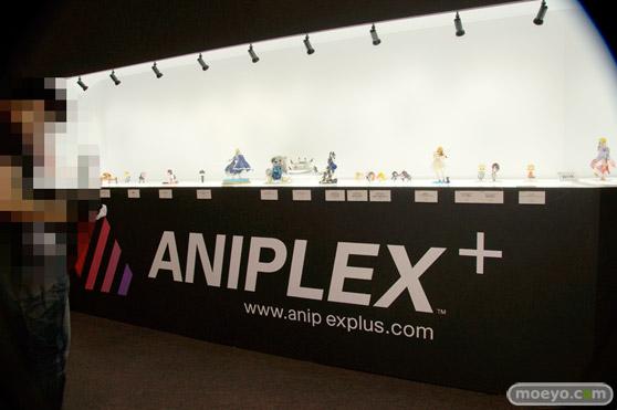 C3AFA TOKYO 2017でのアニプレックスプラス5周年記念フィギュア展示の様子01