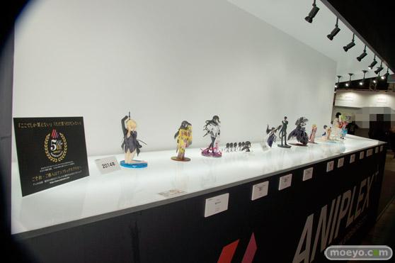 C3AFA TOKYO 2017でのアニプレックスプラス5周年記念フィギュア展示の様子02