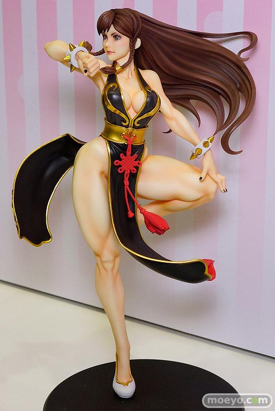 コトブキヤのSTREET FIGHTER美少女 春麗 -BATTLE COSTUME-の新作フィギュア彩色サンプル画像04