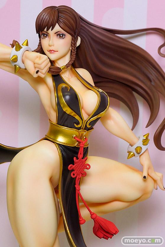 コトブキヤのSTREET FIGHTER美少女 春麗 -BATTLE COSTUME-の新作フィギュア彩色サンプル画像05