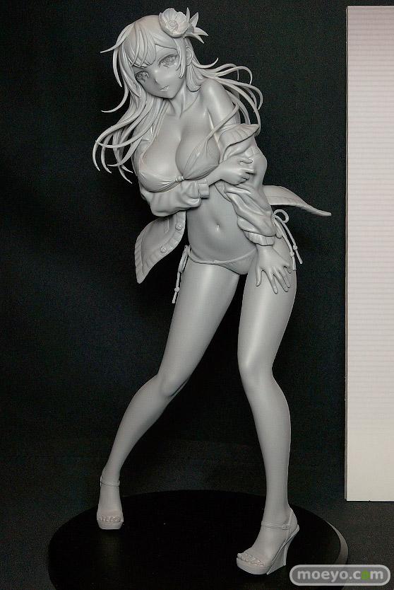 ダイキ工業の黒船来襲少女! カバーイラスト 黒音(仮)の新作フィギュア原型画像01