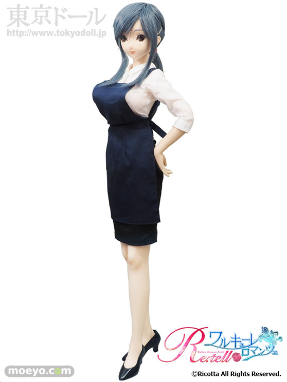 東京ドールワルキューレロマンツェ Re:tell「シームレスドール柊木綾子」の新作ドールサンプル画像01