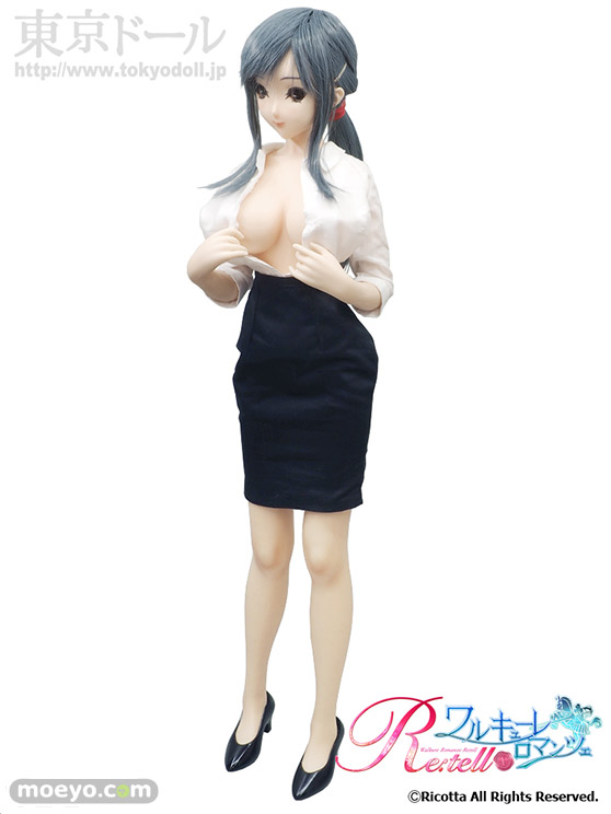 東京ドールワルキューレロマンツェ Re:tell「シームレスドール柊木綾子」の新作ドールサンプル画像06