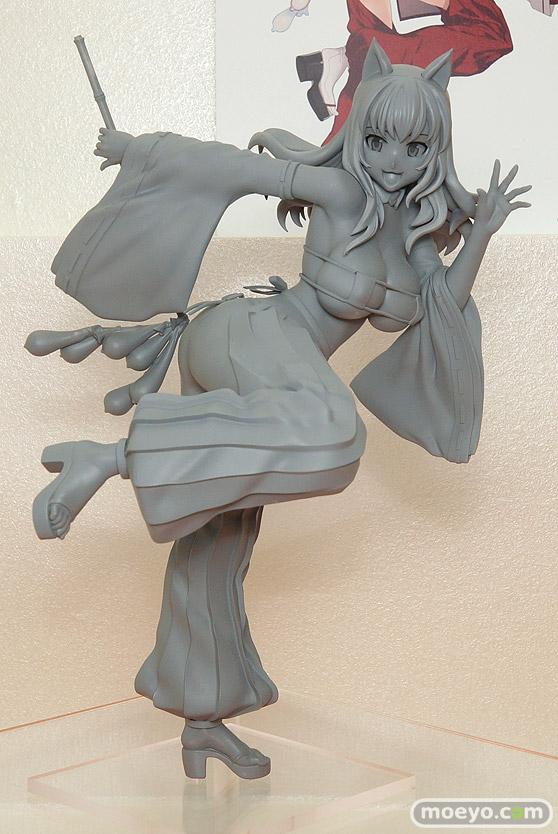 ロケットボーイの水龍敬ランドの巫女の新作フィギュア原型画像01