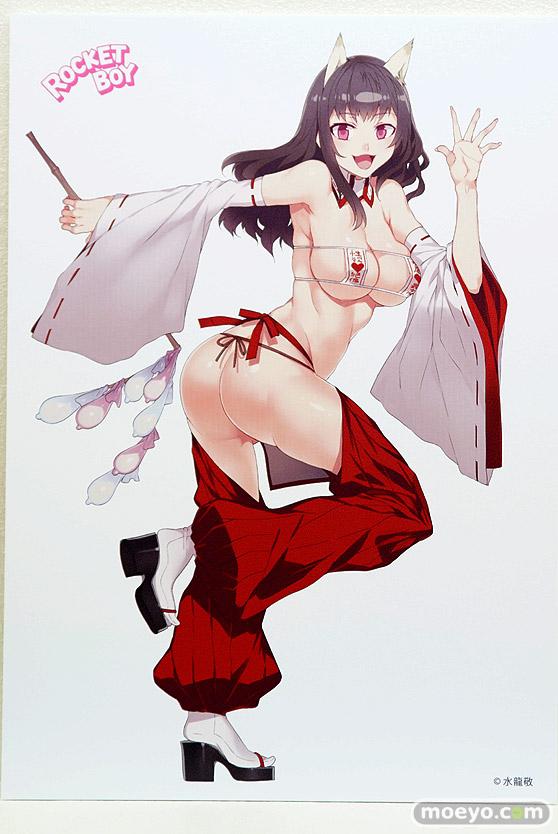 ロケットボーイの水龍敬ランドの巫女の新作フィギュア原型画像15