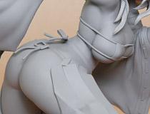 ロケットボーイ新作フィギュア「水龍敬ランドの巫女」監修中原型が展示!【WF2017夏】