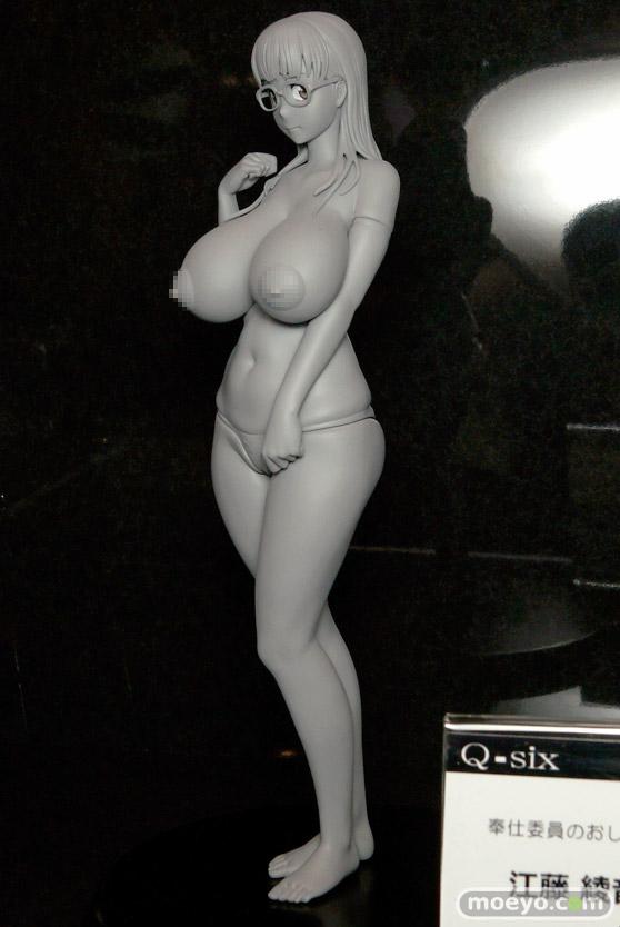 Q-sixの奉仕委員のおしごと 江藤綾音の新作フィギュア原型画像03