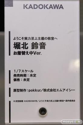 KADOKAWAのようこそ実力至上主義の教室へ 堀北鈴音 お着替え中Ver.の新作フィギュア原型画像15