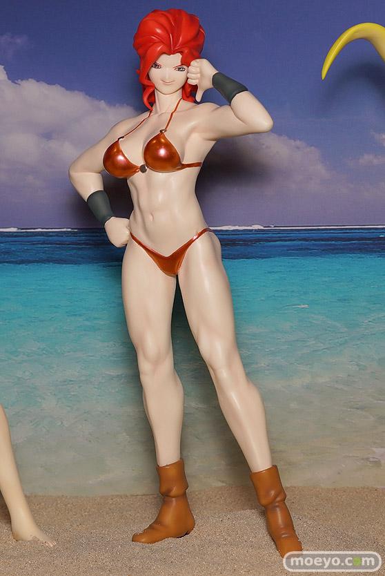 キャラホビのon the beachのガンダム美少女水着フィギュア展示の様子03