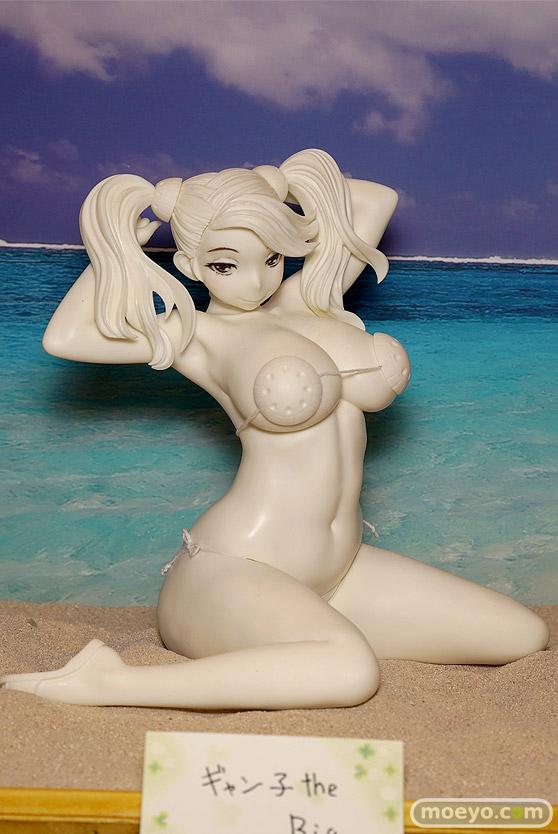 キャラホビのon the beachのガンダム美少女水着フィギュア展示の様子21