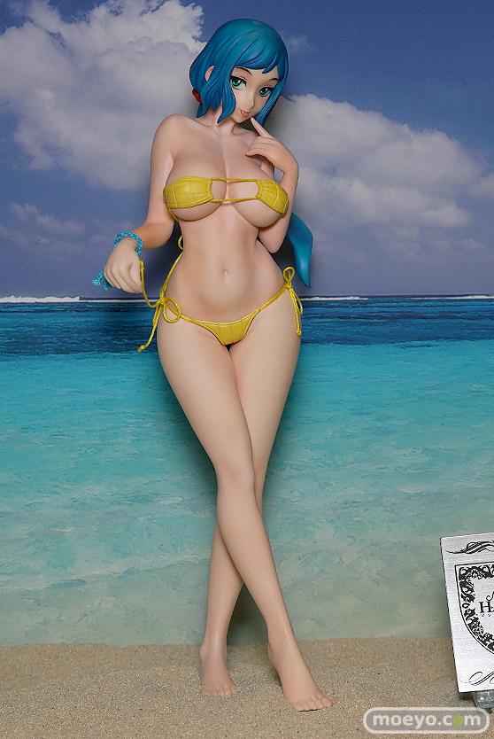 キャラホビのon the beachのガンダム美少女水着フィギュア展示の様子24