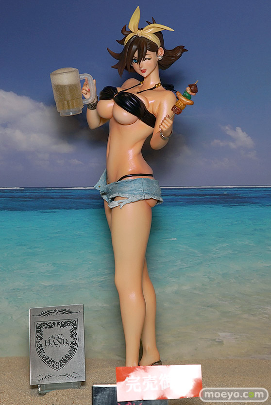 キャラホビのon the beachのガンダム美少女水着フィギュア展示の様子28