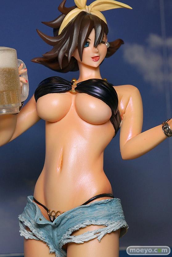キャラホビのon the beachのガンダム美少女水着フィギュア展示の様子30