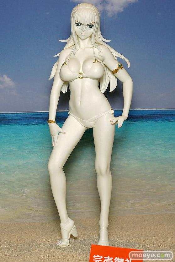 キャラホビのon the beachのガンダム美少女水着フィギュア展示の様子31