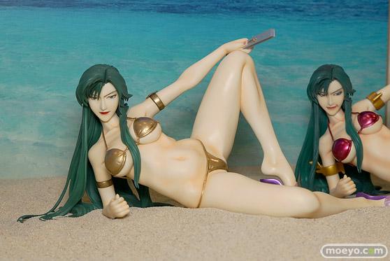 キャラホビのon the beachのガンダム美少女水着フィギュア展示の様子52