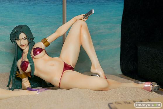 キャラホビのon the beachのガンダム美少女水着フィギュア展示の様子54